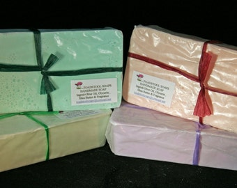 Witches Potion Soap Loaf One Pound Goatmilk Shea Butter Mango Butter Coconut Oil by Toadstool Soaps