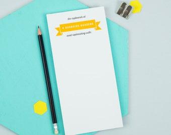 Personalised Shopping Notepad
