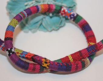 5 m cord 6mm multicolored ethnic - SC59871 - cotton