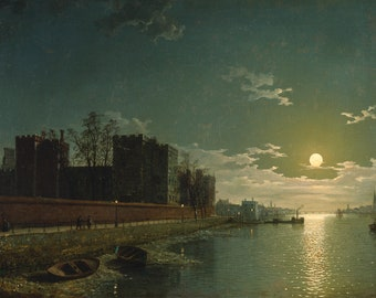 Henry Pether: Lambeth Palace. Fine Art Print (5058)