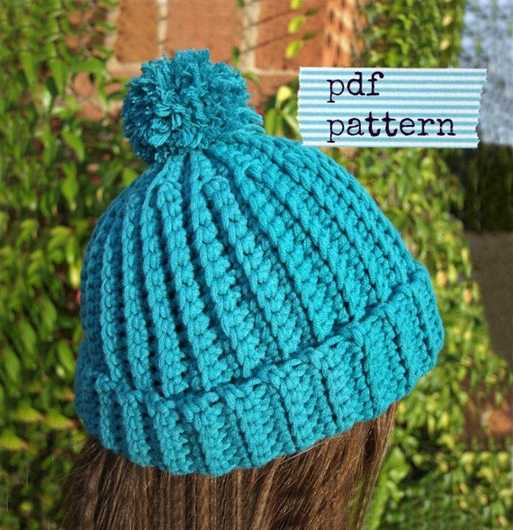 Crochet Beanie PATTERN Crochet hat pattern Easy crochet