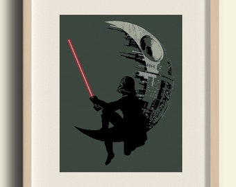 Star wars Cross Stitch Pattern/Star Wars Embroidery/Darth Vader/ star death /pdf pattern instant download #C8