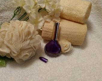 Purple Galaxy Nail Polish~Nail Polish~Purple Nail Polish~Nail Care~Manicure~Nails~Pearly Polish~Violet Polish~