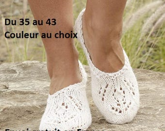 Wool and alpaca slippers, handknit, woman slippers, mothers day gift birthday Christmas accessory fall winter
