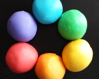 Lavender Scented Playdough Pack. Coconut Oil Based, Aromatherapy, Homemade Playdough.