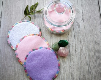 Facial Rounds, Face Cloth, Flannel, Scrubbie, Wash cloth, Exfoliating Pad