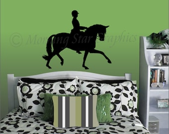 DRESSAGE Vinyl Wall Art Decal SP-100
