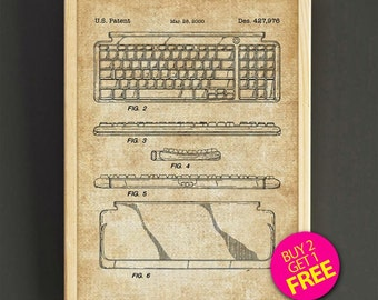 Computer mouse patent poster computer mice blueprint art print keyboard patent art print computer keyboard blueprint wall decor poster house wear gift linen print malvernweather Image collections