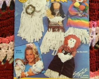 Mop Mini Dolls for Kids 1990