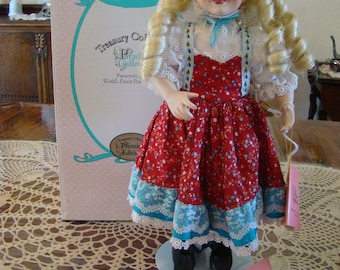 Goldilocks Porcelain Doll from Paradise Treasury Collection