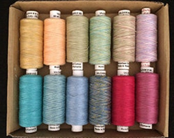 Valdani Quilting Threads - The Seasons - Spring - 60 wt.