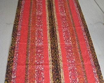 Vintage Tapa Cloth Tiki Fabric Hawaiian Designs (4472-W)