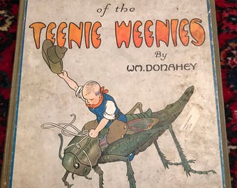 Vintage Adventures if the Teenie Weenies by W.M. Donahey