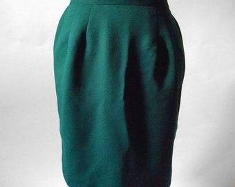 90s womens midi pencil skirt