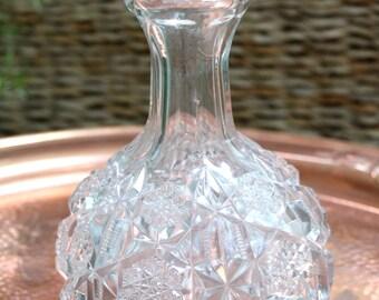 Antique Glass Decanter