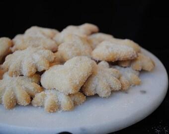 Vanilla Sugar Spritz Cookies, 3 doz - Loca pick up only