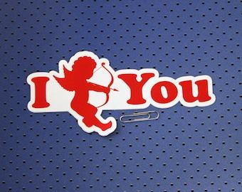 I Cupid You Bumper Sticker