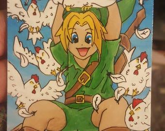 MTG alter Birds of Paradise, Zelda