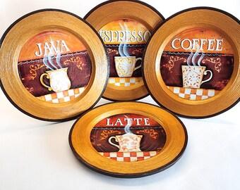 Coffee decor, coffee kitchen decor, coffee wall decor, coffee wall art, coffee lover gift, rustic home decor, coffee art print, coffee art