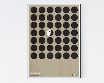 The Non-Conformists - Bauhaus Graphic Art Poster