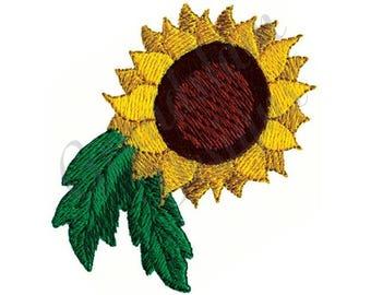 Sunflower - Machine Embroidery Design