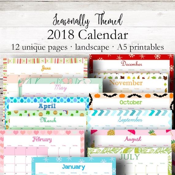 monthly calendar december 2018 printable