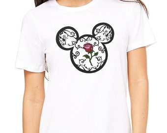 Disney Inspired Beauty and the Beast T-shirt