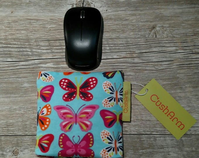 Butterfly CushArm mini Computer Wrist Support, perfect for a stand up desk, Comfort and Support