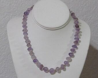 Soft Purple Amethyst necklace