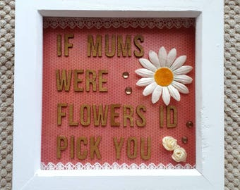 Mother flower Frame