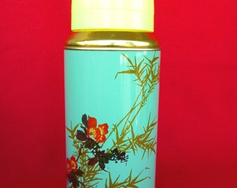 New Old Stock 80's Thermos - Vintage Thermos - Coffee Thermos - Cup Thermos  - Tea Thermos -Travel Thermos 20oz/0.62lt SUNFLOWER  China Nr33