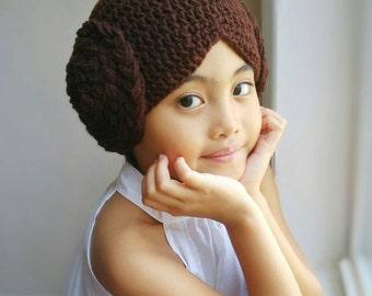 Princess Leia,Star Wars crochet hat,Princess Leia wig hat costume,star wars costume,Leia wig,baby photo props,baby shower gift,baby Leia,hat