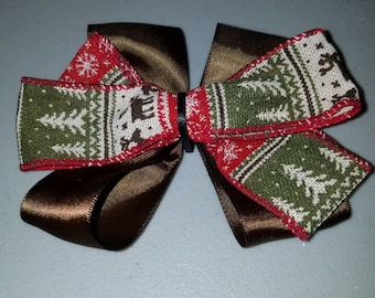 Sweater Weather Hairbow