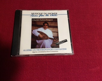 Musique Du Monde Music from the World Cd, 1997 Edition