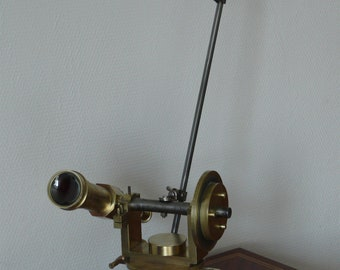 theodelite transformed into lamp