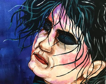 Robert Smith painting