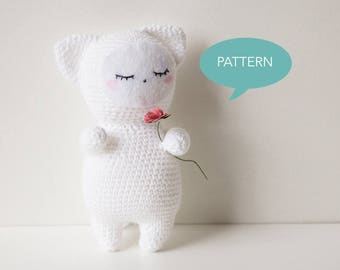 Crochet Amigurumi Cat Pattern, Amigurumi Pattern, Cat Crochet Pattern, Cat Amigurumi Pattern, Amigurumi Animal Crochet Pattern PDF
