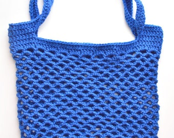 Quick Mesh Tote - PDF Crochet Pattern - Instant Download