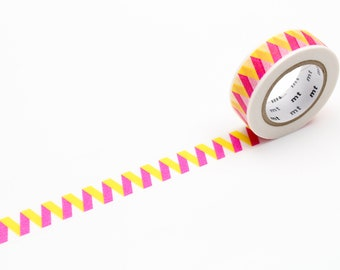MT washi tape, pink bellows, 15 mm
