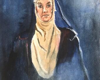 Queen Bavmorda - original painting