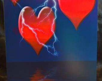3 Hearts - Valentine Card