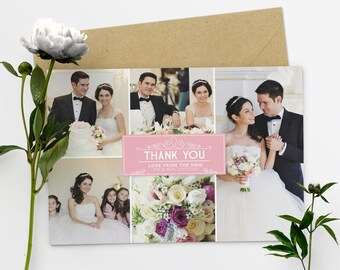 Photo Thank You Cards Wedding Thank You Cards With Photo Thank You Card Template - #28-12