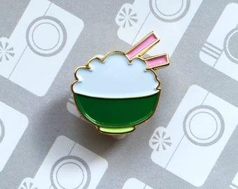 Badges rice bowl