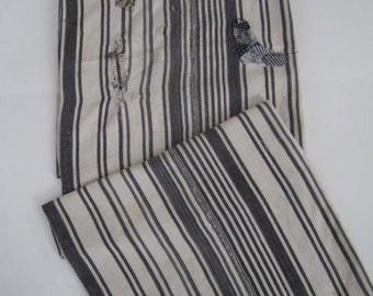 Vintage African Striped Textile