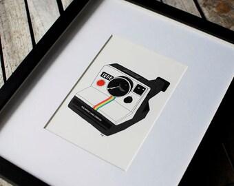 Polaroid Camera- 5x7 Print