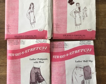 Vintage Lingerie patterns - Sew-Knit-And-Stretch