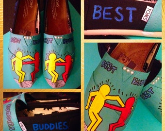 Custom made Best Buddies Toms. Designed and personalized just for you!