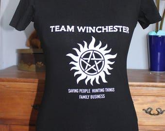 Supernatural Team Winchester T-Shirt