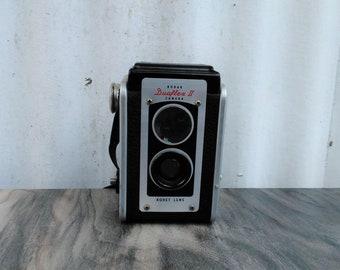 Vintage Kodak Camera - Kodak Duaflex II Camera - Kodet Lens - Photography - Photo Prop