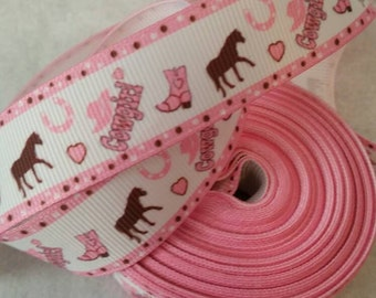 Western Ribbon | Bow Making Ribbon | Bow Supplies | Grosgrain Bow Ribbon | Grosgrain Ribbon | Bow Making Supplies |